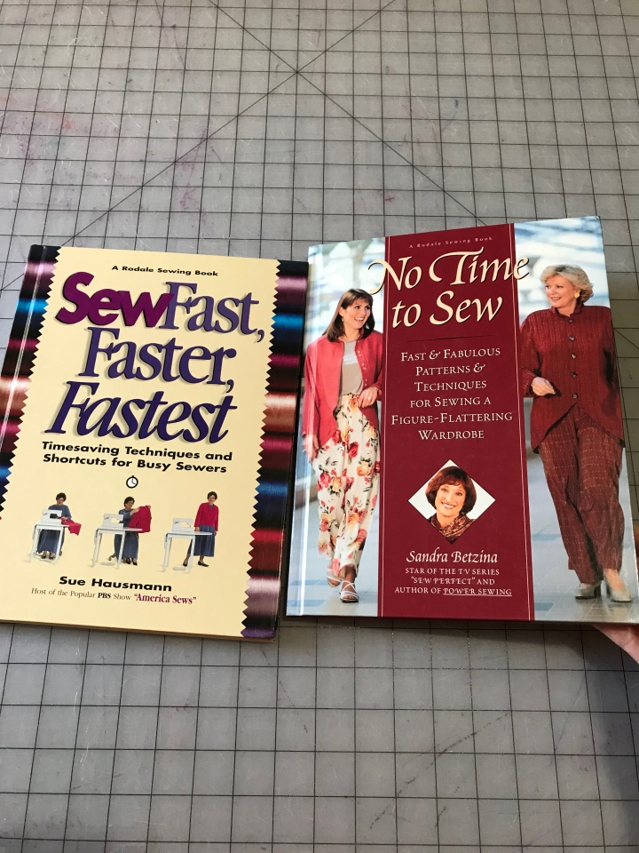 Sewing Books!