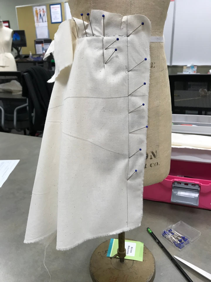 """Diary of a Seamstress"" – Draping"