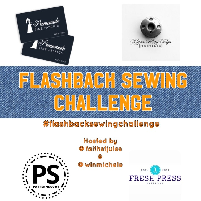Flashback sewing challenge