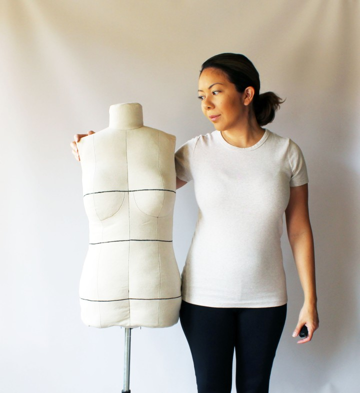 Bootstraps Fashion DIY DressForm